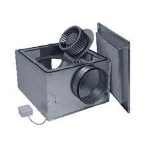 Канальный вентилятор в изолированном корпусе Ostberg IRE 125 A1 для круглых воздуховодов