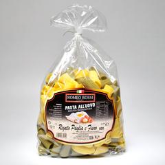 Паста яичная ROMEO ROSSI Ригатони двухцветные 500 г