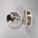 Проволока серебристая с медным сердечником Zebra Wire, 0,25 мм, посеребренная, 45 м