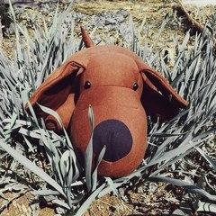 Подушка-игрушка антистресс «Мохнатый Патрик Коричневый» 6