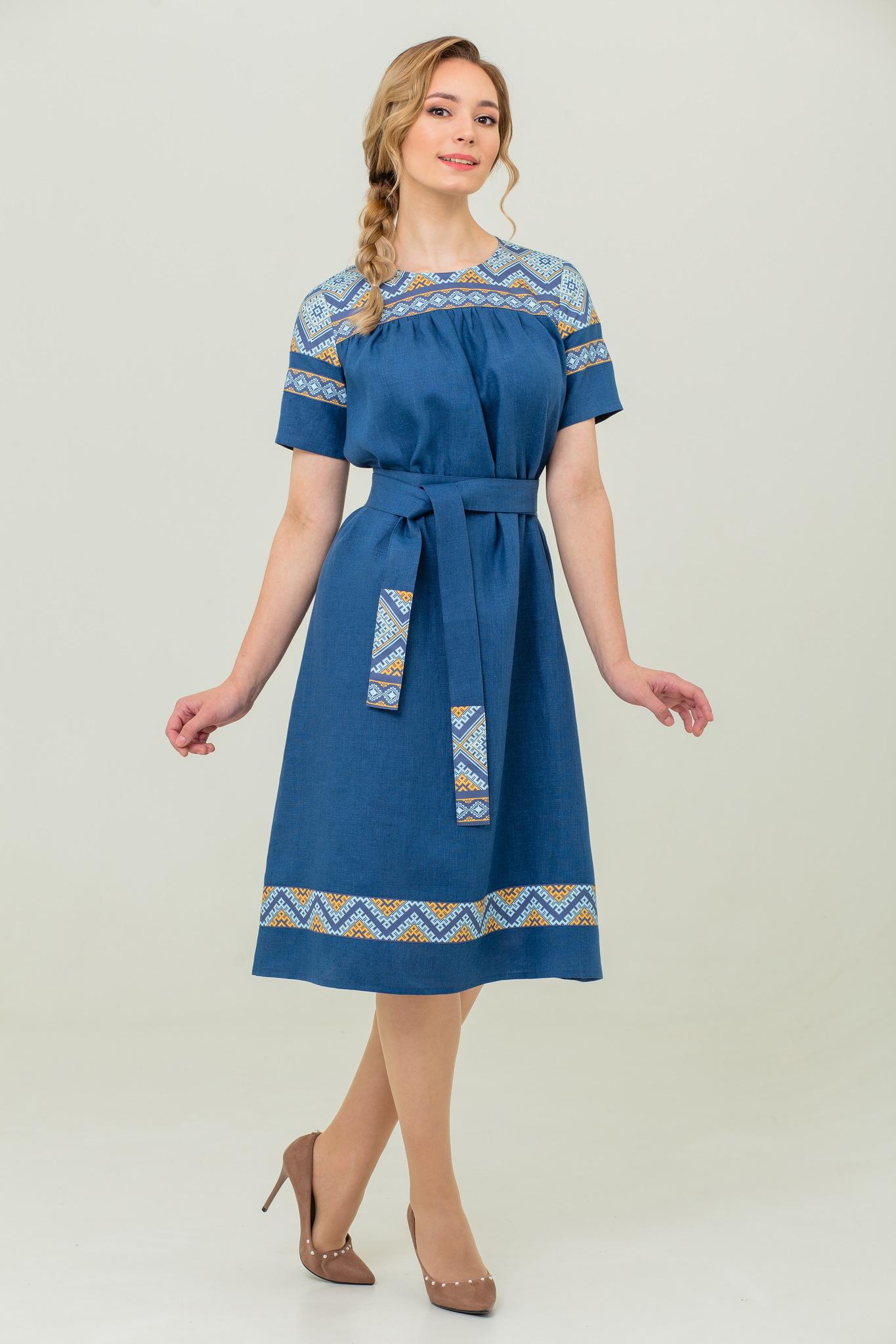 Платье миди Каспийское