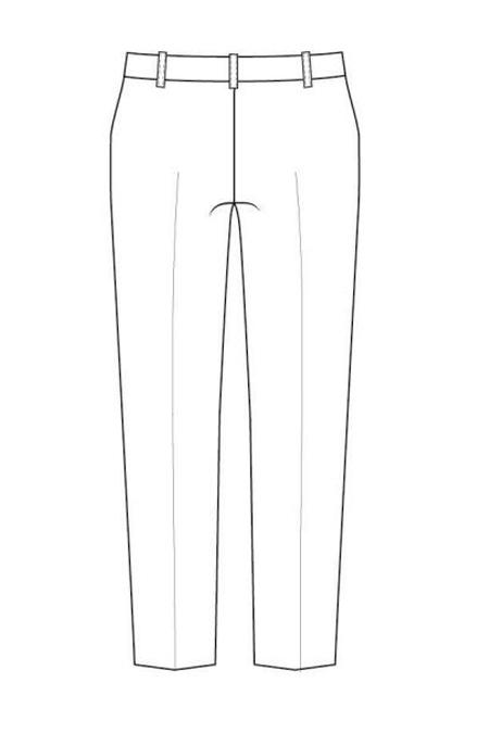 Выкройка классических брюк для мальчика