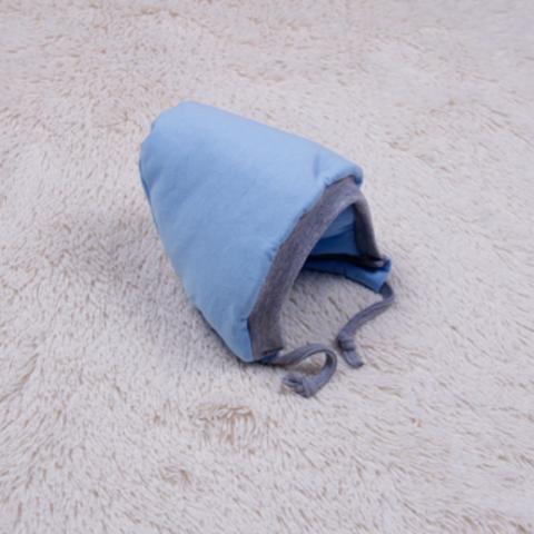 Теплая шапочка  Mini, р.56-74 см (голубая)