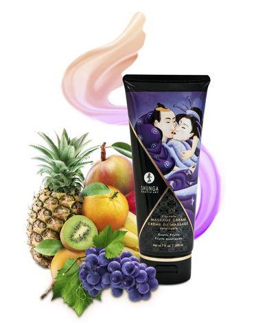 Массажный крем для тела Экзотические фрукты серии Необыкновенные поцелуи, 200мл фото