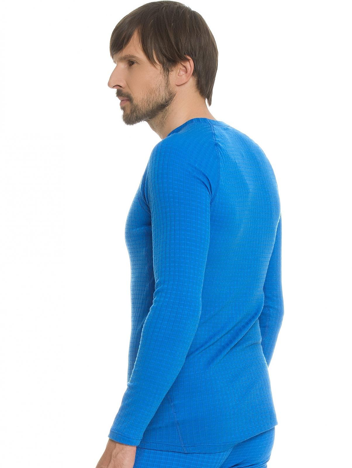 Мужская терморубашка крафт Warm Wool Black blue (1903726-1336) фото