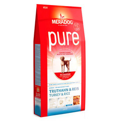 Meradog Pure Junior turkey&rice