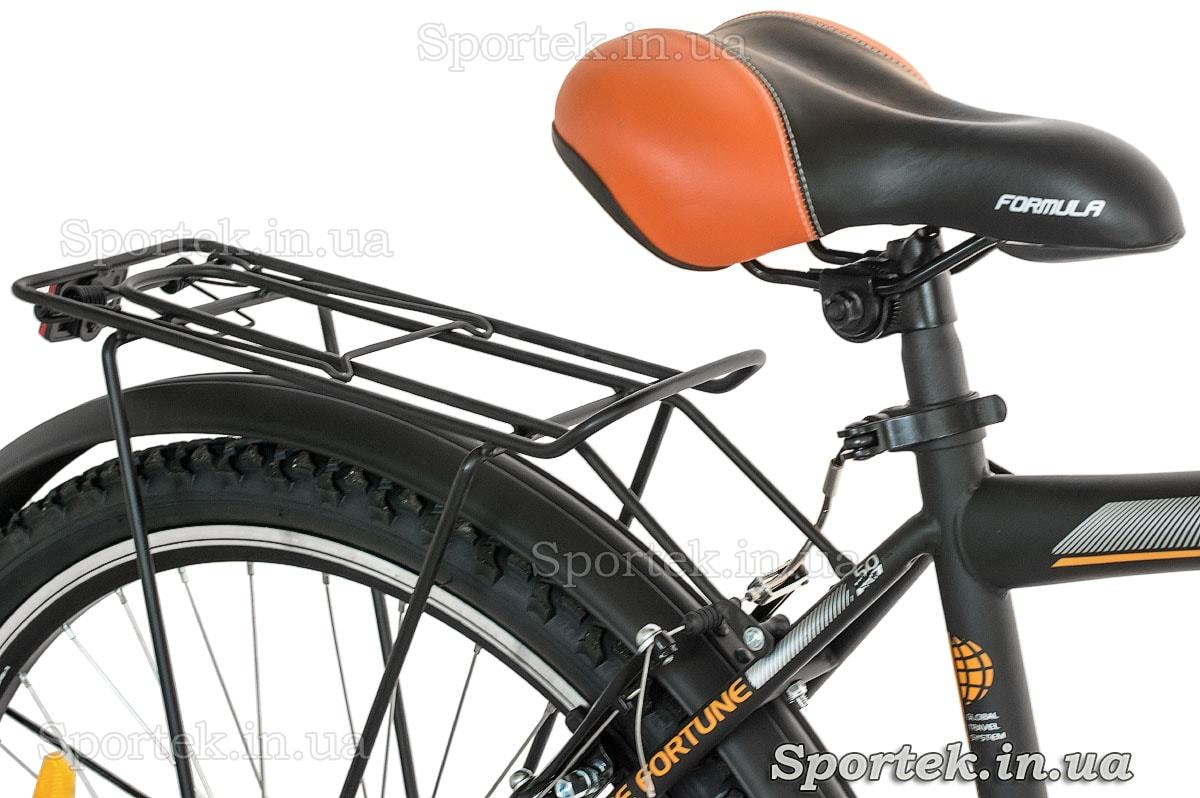 Седло и багажник городского мужского велосипеда Formula Magnum 2016 (Формула Магнум)