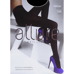 Колготки Allure Velour 120D (nero)