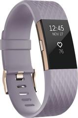 Умный фитнес-браслет Fitbit Charge 2, Сиреневый Special Edition (S), FB407RGLVS-EU