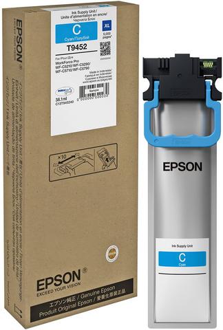 Epson C13T945240  - контейнер повышенной емкости с голубыми чернилами (5000 страниц)