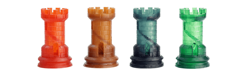 распечатано на 3D-принтере UNIZ Slash Plus