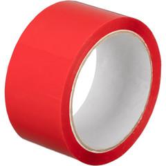 Клейкая лента упаковочная 48мм х 55м 45мкм красная