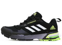 Кроссовки Мужские Adidas FastMarathon 2.0 Black Green