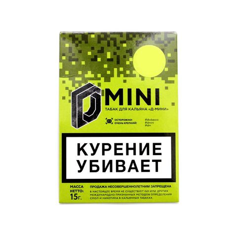 Табак для кальяна D Mini Персик 15  г.