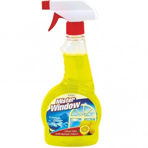 Фабрика Ромакс Mister Window Средство для мытья окон Лимон 500мл