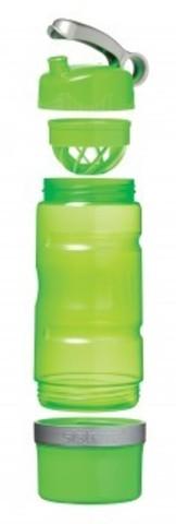Спортивная питьевая бутылка Sistema Sport Fusion, зеленая 615 мл