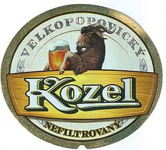 Пиво Velkopopovicky Kozel Nefiltrovany