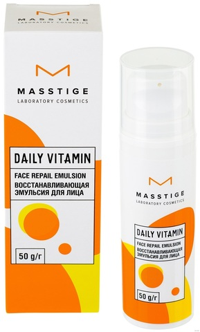 Masstige Daily Vitamin Эмульсия для лица восстанавливающая 50мл