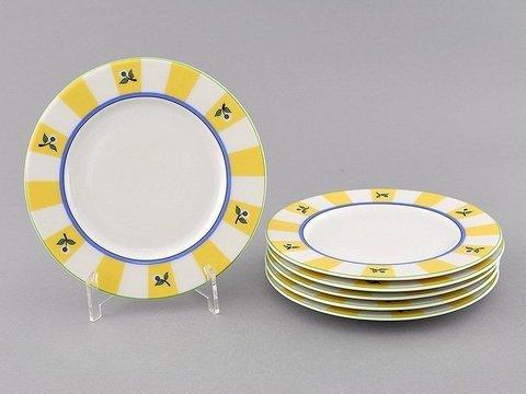 Набор тарелок десертных 17 см 6 штук Сабина Leander