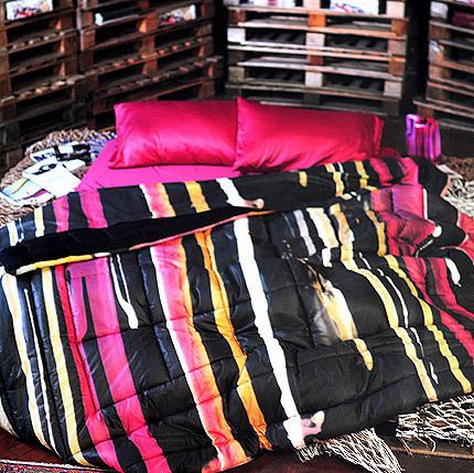 Постельное белье 2 спальное евро Besana Brush