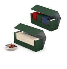 Ultimate Guard - Коробочка кожаная зеленая для хранения 400+ карт