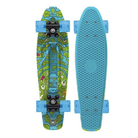 XOOTZ SPINE PP SKATEBOARD - BLUE 22