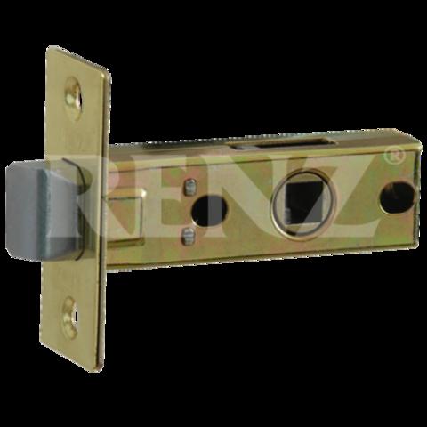 Фурнитура - Защёлка Межкомнатная  Renz L 5-45, цвет бронза античная