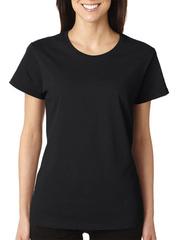 GF1002 футболка женская, черная