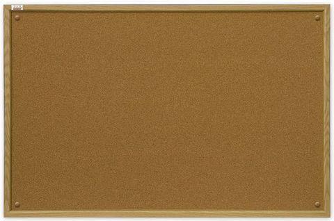 Пробковая доска 2x3 200x100 (TC1020) с деревянной рамкой