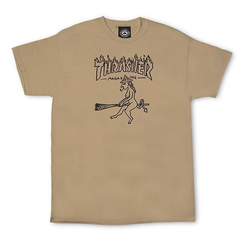 Футболка THRASHER Witch (Tan)