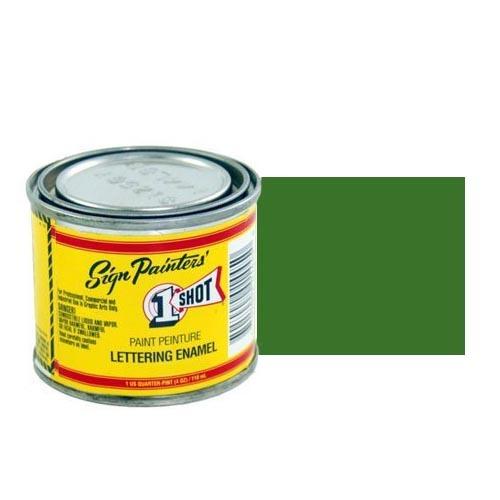 144-L Эмаль для пинстрайпинга 1 Shot Сосново-зелёный (Medium Green), 118 мл