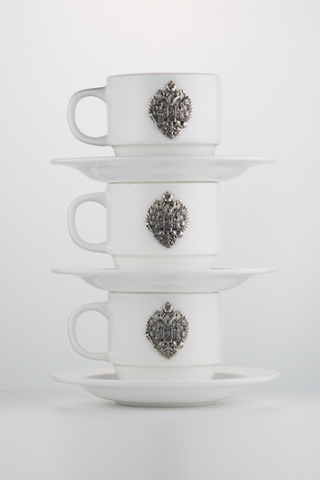 Трио кофейных чашек «Империя».