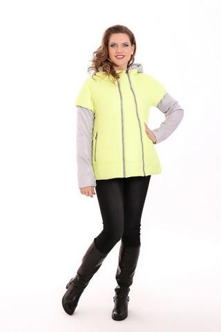 Куртка 04845 желтый