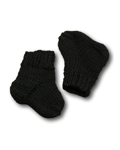 Носки - Черный. Одежда для кукол, пупсов и мягких игрушек.