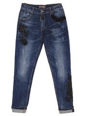 HD9591 джинсы женские, синие