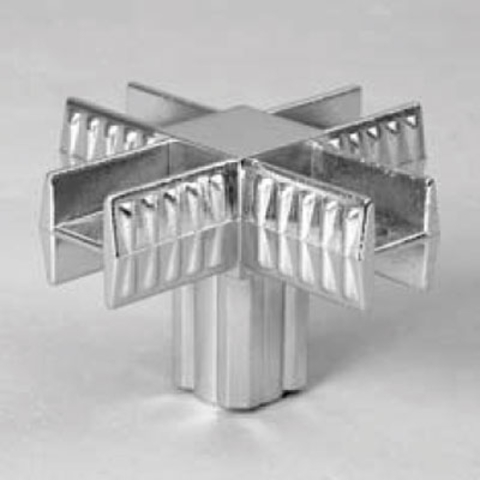 PRIMO  3 Крепеж 5-и плечий 25х25, хром