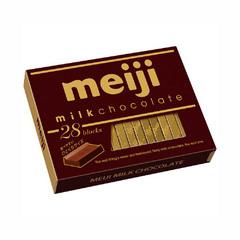 Молочный шоколад MEIJI 120 гр.