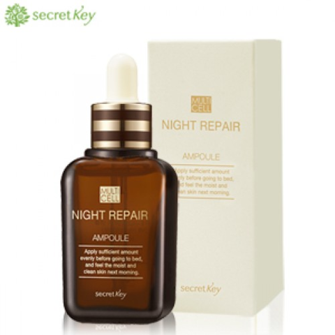 SECRET KEY Multi Cell Сыворотка для лица ночная Multi Cell Night Repair Ampoule 50 мл