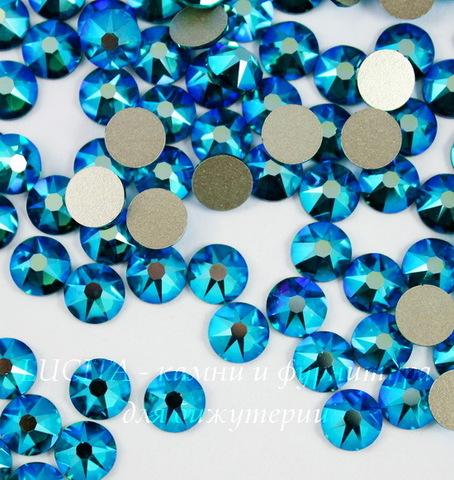 2088 Стразы Сваровски холодной фиксации Blue Zircon Shimmer ss30 (6,32-6,5 мм)