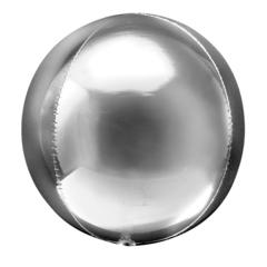 К Сфера 3D, Серебро, 20''/51 см, 1 шт.