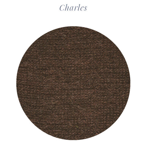 Альпака, меринос, па LANIFICIO DELL'OLIVO CHARLES коричневый меланж