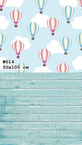 Фотофон виниловый стена-пол «Воздушный шар» №014