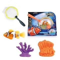 ROBOFISH РобоРыбка с 2 кораллами и сачком (2537)