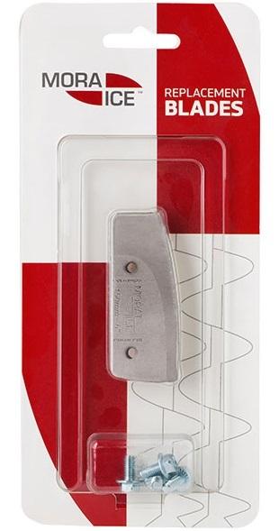 Ножи прямые Mora Ice для ледобуров Easy, Spiralen (с болтами для крепления)