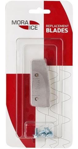 Ножи прямые Mora Ice для ледобуров Easy, Spiralen 125 мм (с болтами для крепления), арт. 20581