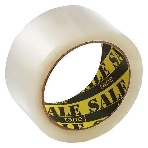 Клейкая лента упаковочная SaleTape 48ммх40мх38мкм, прозрачная, 6 шт,/уп.