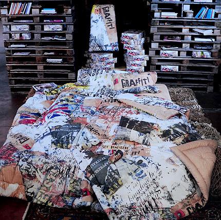 Постельное Постельное белье семейное Besana Graffiti 1graffiti_1_.jpg