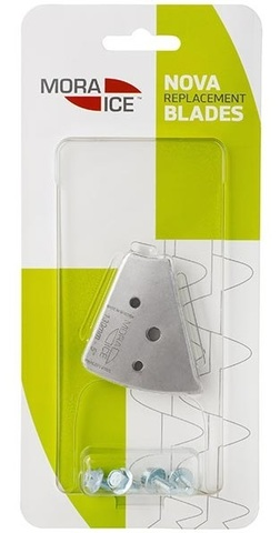 Ножи сферические Mora Ice для ледобуров Nova 130 мм (с болтами для крепления), арт. 20990