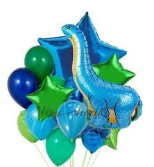 """Букет """"Синий Динозавр"""""""