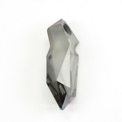 6912 Подвеска Сваровски Kaputt Crystal Scarabaeus Green (28 мм)